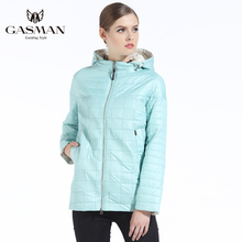 GASMAN 2018 Brand Spring Autumn Coat Women Coats And Jackets Short Hooded Women's Windproof Jacket Casual Plus Size 4XL 5XL цена и фото
