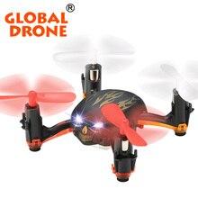 Global Drone GW008 2.4G 4CH Sans Tête Mini Drone Poche Drones Crâne Mini Quadcopter Clignotant Mini RC Drone VS Cheerson CX-10