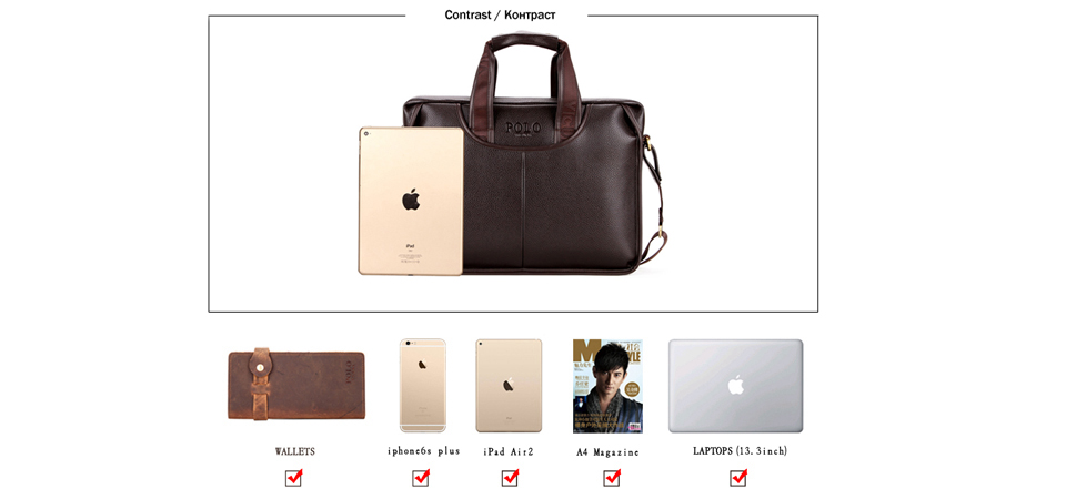 ea02bceecb HTB1eG2TSXXXXXcjXXXXq6xXFXXX3 VICUNA POLO Classic Design Large Size Leather  Briefcases Men Casual Business Man Bag Office Briefcase