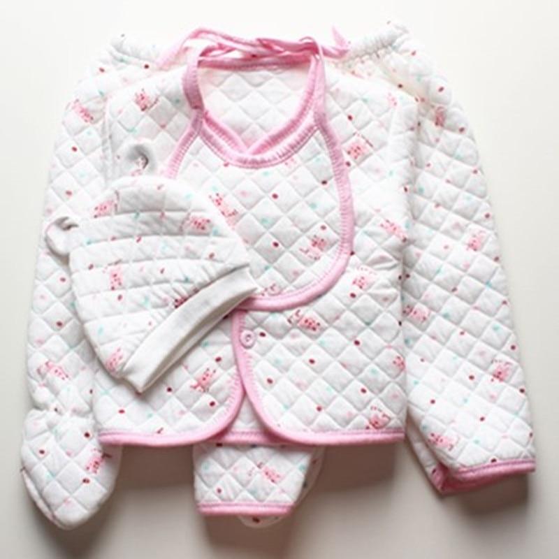 12d21db11 Baby clothes Spring autumn winter baby 5 piece suit set newborn baby ...