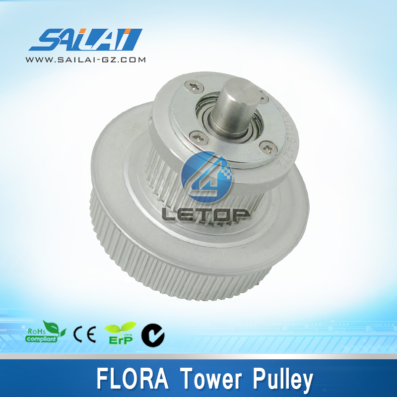 High quality!! Inkjet printing parts flora tower pulley