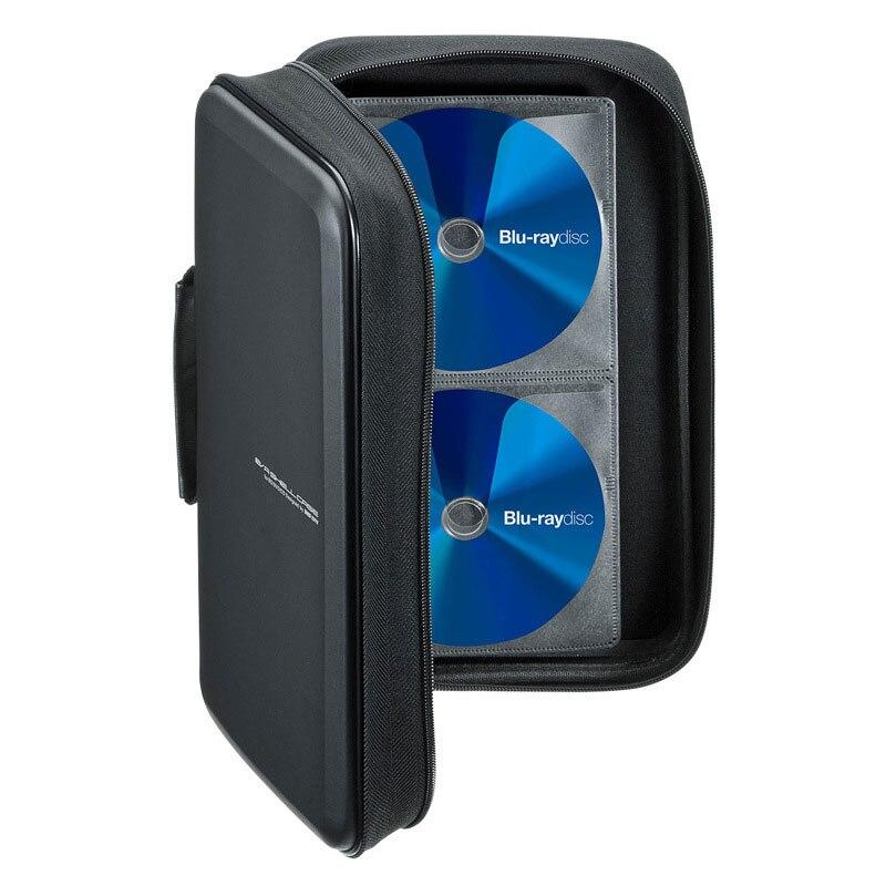 Capacidade à Prova de Choque Caixa de Armazenamento de Alta Eva para Carro e Casa Ymjywl Case Blu-ray Disco – Dvd Qualidade Material cd 104