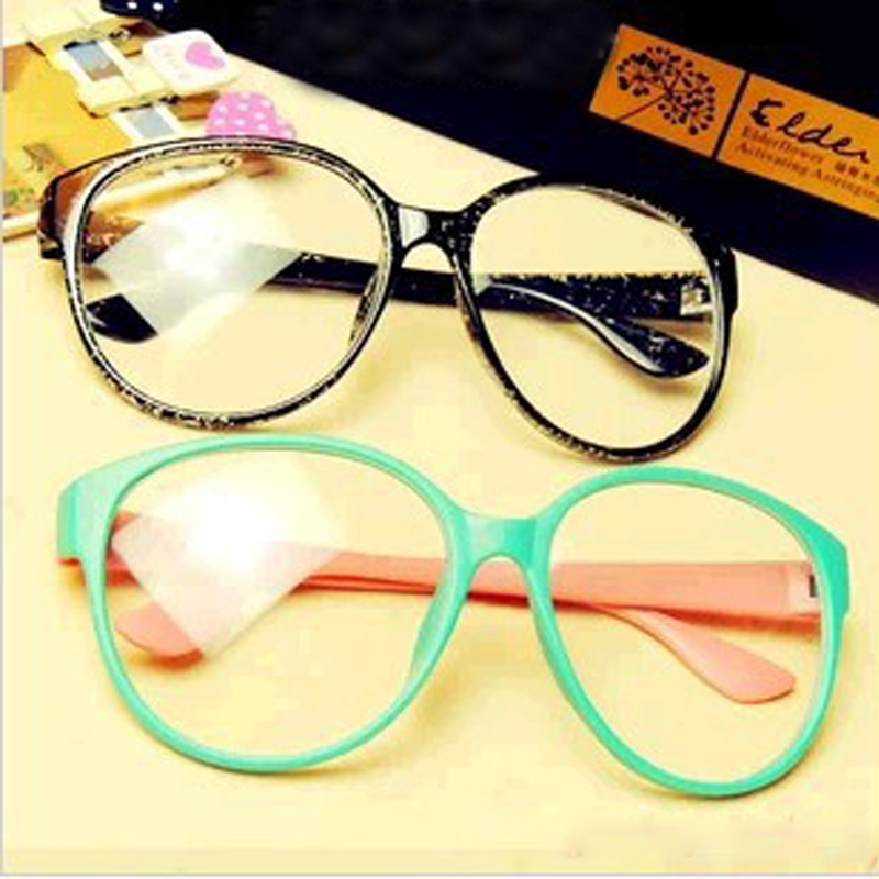 0b565beb4 2016 eyeglasses frame Fashion Round Hello kitty frame Vintage Plain Glass  Spectacles Optical Frame For Women Men Decoration y228-in Eyewear Frames  from ...