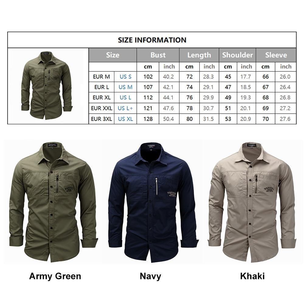 FREDD MARSHALL Men's Shirts 2019 Casual Slim Fit 100% Cotton Long Sleeves Men zip Shirt   2