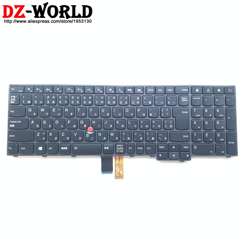 New Orig JP Japan Backlit Keyboard for Thinkpad T540P W540 W541 T550 W550S T560 P50S Backight