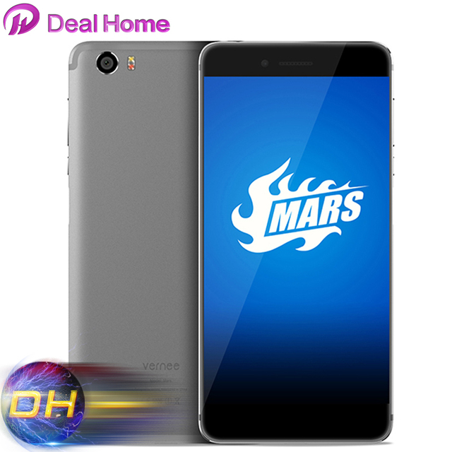 Original Vernee Mars Mobile phone MT6755 Octa Core Andriod 6.0 2.0GHz 4GB+32GB 5.5'' FHD in-cell 1920*1080 13.0MP 4G Smartphone