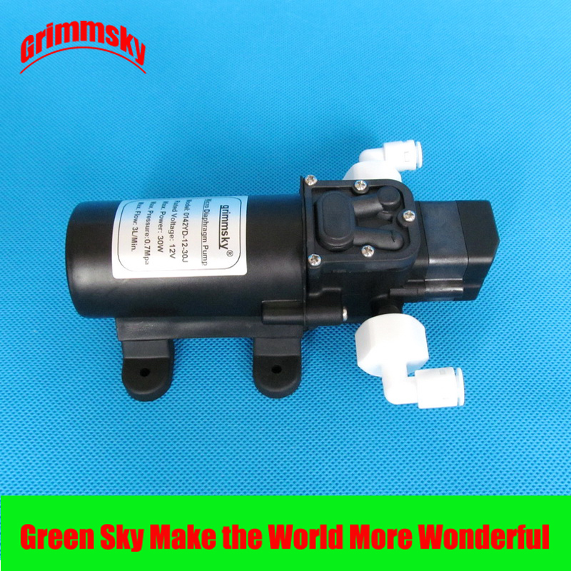 3L/Min 30W 12v automatic household booster pump