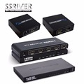SSRIVER HDMI 1x2 1x4 1x8 1080P Splitter Amplifier HDMI Switch Switcher 1 in 2 Out  Converter adapter For HDTV