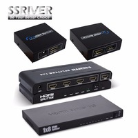 HDMI Splitter 1x2 2160P Real 4K X 2K Amplifier HDMI Switch1 In 2 Out Converter Adapter