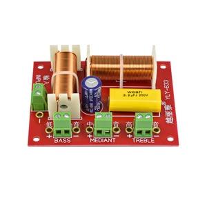 Image 3 - AIYIMA 2 stücke 200W 3 Weg Audio Lautsprecher Crossover Höhen + Mitten + Bass Unabhängige Crossover Lautsprecher Filter Frequenz teiler