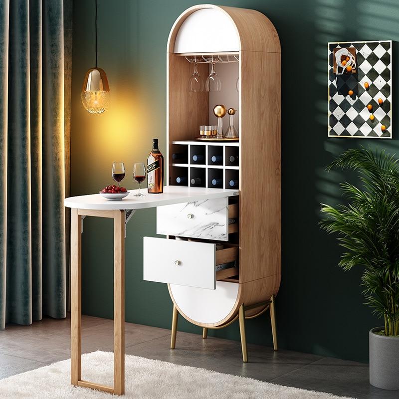 US $3731.34 |Vetrinetta mueble wine bar vitrina cajonera cassettiera  cassettiera legno armario display mobile soggiorno muebles sala-in  Mobiletti da ...