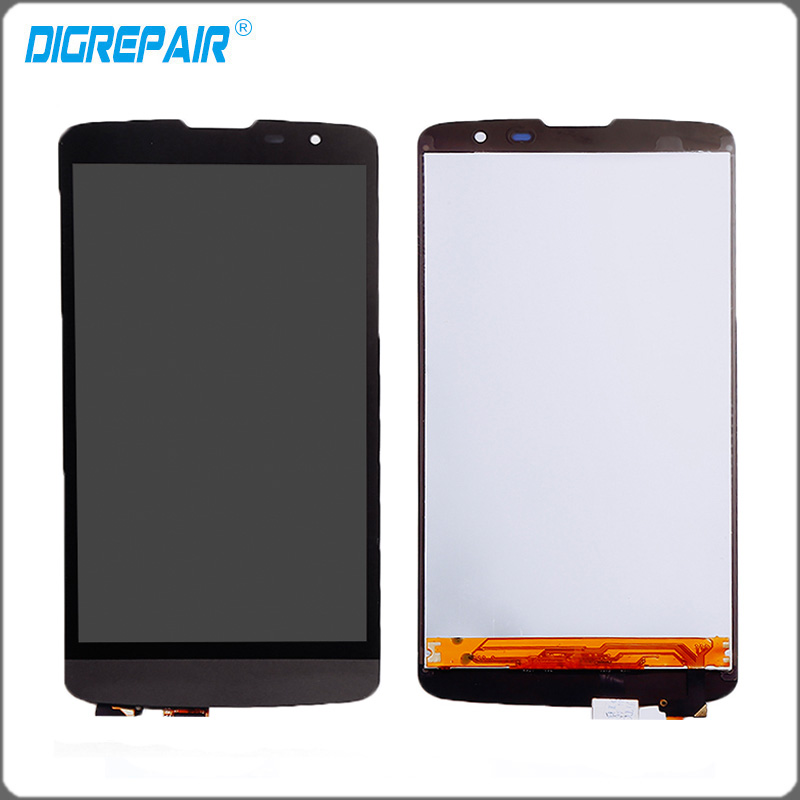 """Black For LG L Prime D337 <font><b>LCD</b></font> Display Monitor Panel Touch Screen Digitizer with \""""TV\"""" Version Assembly Glass Parts Accessory"""