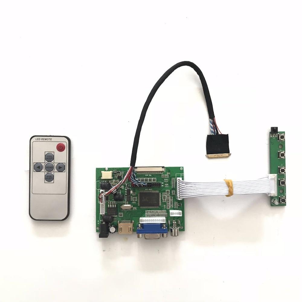 Free shipping Universal HDMI VGA AV LCD Controller Board for 15.6 inch 1366x768 LTN156AT02 LED Monitor Kit for Raspber