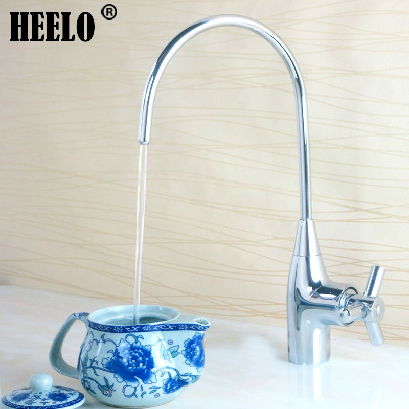4 Brass non lead wall kitchen fresh water tap purified water tap