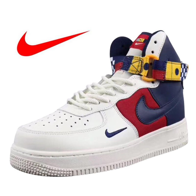 quality design 79c0c b646f Original High Quality Nike Air Force 1 High Men's Skateboarding Shoes  Outdoor Sneakers Lightweight AR5395-100