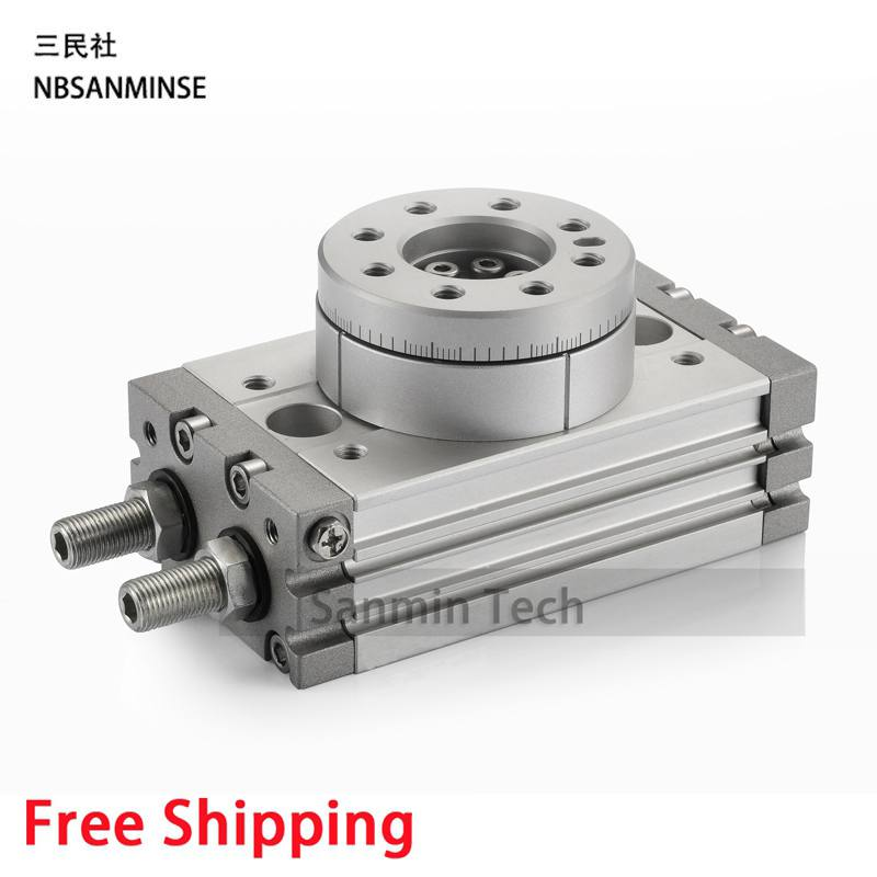 Free Shipping Air Cylinder Pneumatic Compressed Parts MSQB Type Pinion Air ( non - lube ) SMC High Quality On Best Sale Sanmin pneumatic cylinder cdg1bn40 50 air cylinder 5pcs sets free shipping