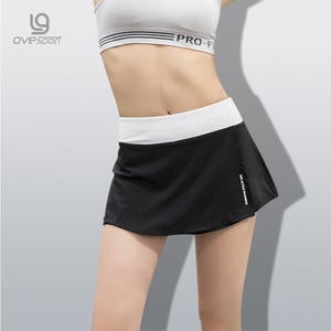 Summer New Fashion Women's Sporting Skirt Shorts Workout Casual Elastic Waist Quick Dry Fitness Trousers Breathable Women Shorts