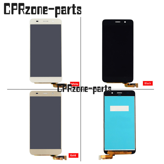 US $19 5  100% Warranty LCD Screen Display With Touch Screen Digitizer  Asssembly For Huawei Honor 4A Y6 SCL L01 SCL L21 scl u31-in Mobile Phone  LCDs