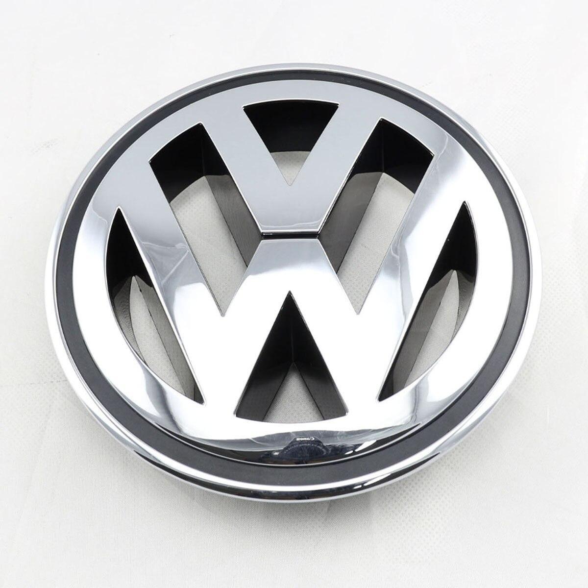 150 MM Chrome 1K5853600MQH Avant Calandre Emblème De Voiture Accessoires Pour VW Volkswagen Golf Jetta Passat Tiguan R32 Lapin