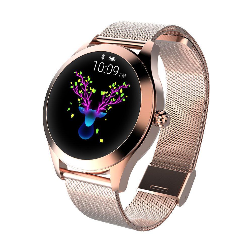696 kw1010 2019 Women Luxury Smart Watch IP68 Waterproof Fitness Bracelet Heart Rate Monitoring Bluetooth For Android IOS 38 mm696 kw1010 2019 Women Luxury Smart Watch IP68 Waterproof Fitness Bracelet Heart Rate Monitoring Bluetooth For Android IOS 38 mm