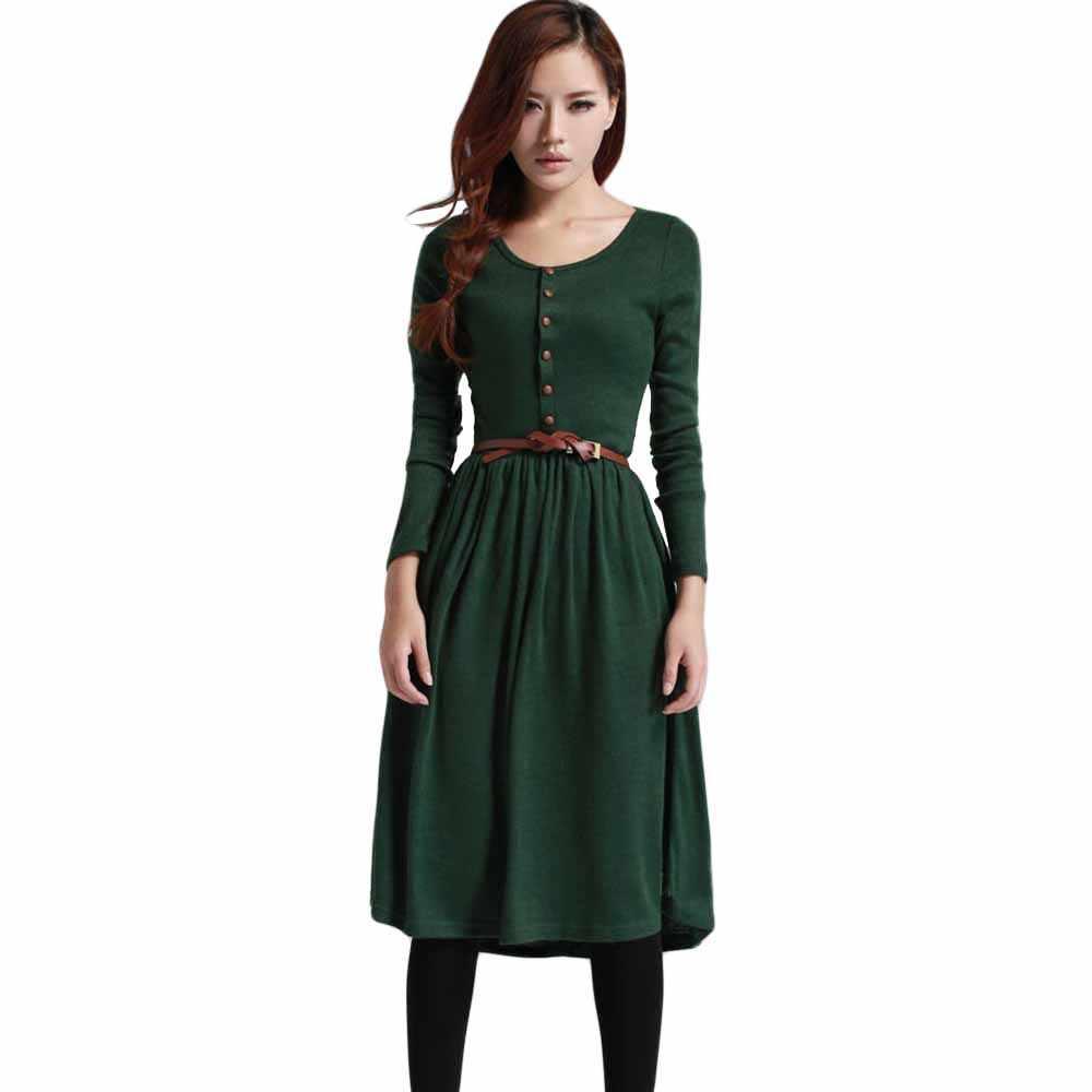 Зима Осень стиль работы женские облегающие пикантные платья новое поступление повседневные Теплые Длинные рукава эластичный рукав туника миди платье yf700