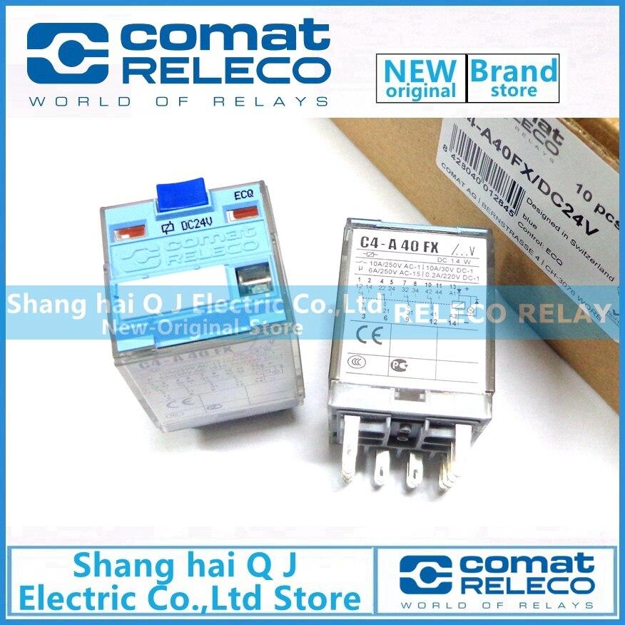 RELECO C4-A40FX DC24V 24VDC relais tout neuf et originalRELECO C4-A40FX DC24V 24VDC relais tout neuf et original
