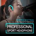2017 auriculares del deporte impermeable auricular bluetooth auriculares inalámbricos con micrófono de cancelación de ruido auriculares para xiaomi iphone