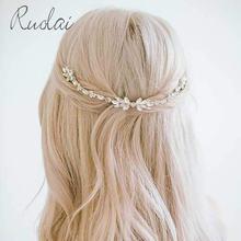 Серебряные/золотые свадебные головные уборы с кристаллами гребень