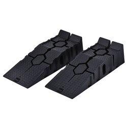 1 par preto 2500 kg rampas resistentes do carro 900mm longo antiderrapante rampa de trabalho óleo do automóvel em mudança reparação manutenção jack elevador ferramentas
