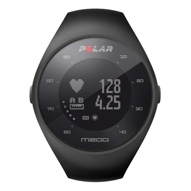 GPS-часы для бега с датчиком сердечного ритма на запястье POLAR M200 Black цена в Москве и Питере