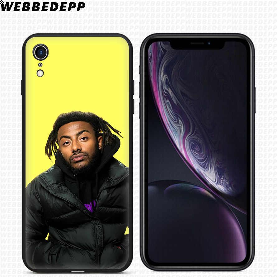 WEBBEDEPP Lil Tjay рэп Рэппер Мягкий силиконовый чехол для iPhone Xr Xs Max X или 10 8 7 6 6 S плюс 5 5S SE чехол для телефона 8 плюс