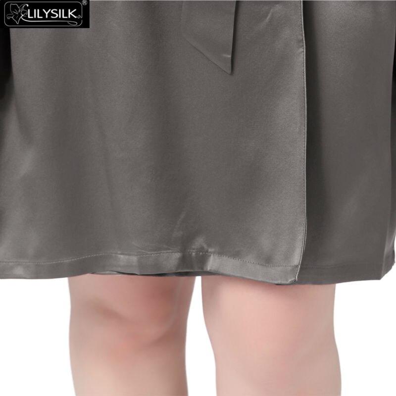 1000-dark-gray-22-momme-mid-length-silk-robe-plus-size-04