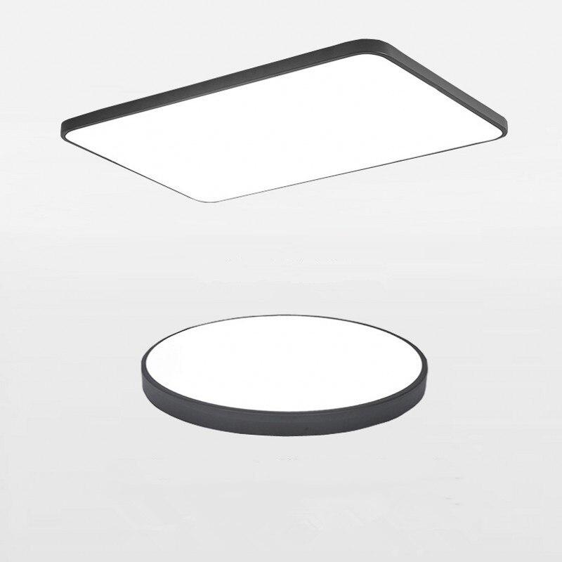 Modern Led Chandelier Light Fixture For Living Room Bed Room Kitchen Led Ceiling Lamp Plafon Acrylic Luminaire 5cm Ultra Thin