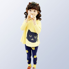 2018 autumn children clothing sets cartoon girl clothing set child sportswear set girl casual suit 2pcs for 3 5 7 8 10 years old children set 2017 new style children s sports two piece suit girls clothing sets 5 6 7 8 9 10 11 12 years old female pullovers
