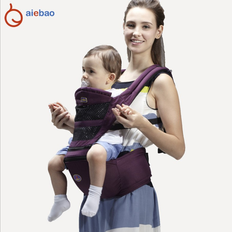 Baby Newborn Carrier Front Facing Hipseat Infant Baby Sling Backpack Baby Kangaroo for Baby 0-36 Months 2016 hot portable baby carrier re hold infant backpack kangaroo toddler sling mochila portabebe baby suspenders for newborn
