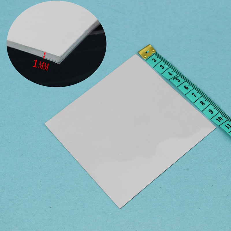 10 pcs Gdstime 100x100x1.0mm Thickness GPU CPU Thermal Conductive Silicone Pad Laptop IC Chips Heatsink Cooling 100mm x 1mm synthetic graphite cooling film paste 300mm 300mm 0 025mm high thermal conductivity heat sink flat cpu phone led memory router