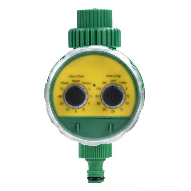 Garden Watering Timer Multi-function Two Dial Automatic Electronic Watering Timer Garden Irrigation time Controller Water Timer