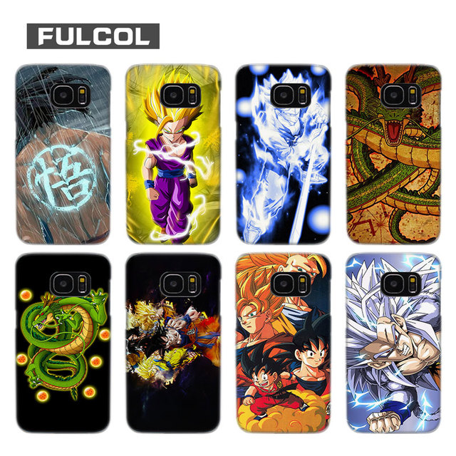 Fulcol Dragonball Wallpaper Transparent Fashion Hard Case Cover For