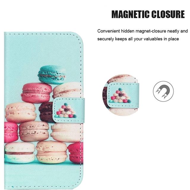 Printed Flip Leather Phone Case