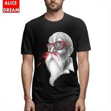 Mens Quality Master Roshi Dragon Ball Tee Shirt Soft Camiseta Round Neck Free Shipping T