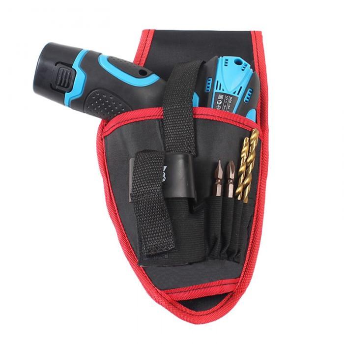Портативный Электрик Деревообрабатывающие инструменты поясная сумка электрическая дрель гаечный ключ Отвертка Беспроводная Bag-WWO66 для хранения
