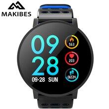 Makibes T3 Smart Bracelet Clock Color Screen Smart Watch IP67 Waterproof Blood Pressure Activity fitness Tracker Smart Band Men