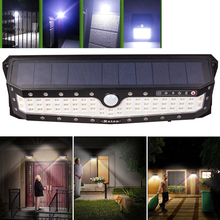 Solar Lamp Light 79 LED 2835 SMD Power PIR Motion Sensor Wall 3 Modes Waterproof for Home Garden Pathway Yard