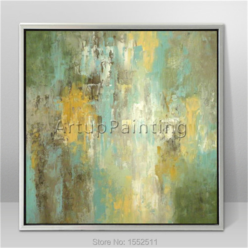 Abstract Paintings Boats seascapes modern art oil on canvas Calm Sea ...
