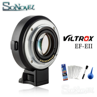 Viltrox EF E II CD PD Auto Focus Reducer Speed Booster Lens Adapter for Canon EF Lens to Sony NEX E Camera A9 A7RIII A7SII A6500