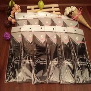 Free Shipping Stainless Steel Circular Knitting Needles set 11PCS/Set 43.65.80.100.120CM Size 6-16(China)