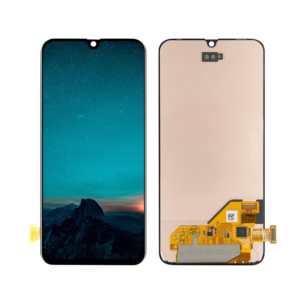 AAA <font><b>LCD</b></font> Display For <font><b>Samsung</b></font> Galaxy <font><b>A40</b></font> A405 SM-A405F A405DS A405F <font><b>LCD</b></font> Display Touch Screen Digitizer Assembly + Frame image