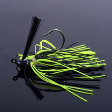 Skirted Jig With Weed Guard 7g 10g 14g Well Balanced Football Jig Head Easy Jump Along The Bottom Great Bass Perch Fishing Lure