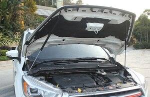 Image 4 - 修理された車のフロントフードカバー油圧ロッドストラットスプリングバー用カースタイリングフォード久我エスケープC520 2013 2015 2017 2019