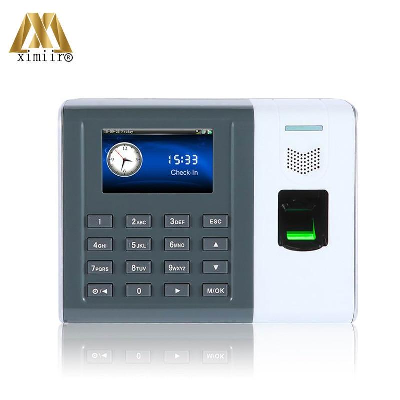 Good Quality XM100 Biometric Fingerprint Time Clock TCP/IP & RS232/485 Communication Fingerprint Time Attendance Time Clock